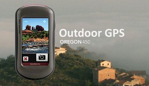 Туристический навигатор Garmin Oregon