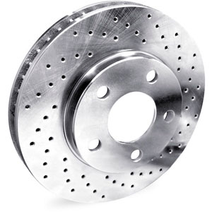 Cross Drilled Rotors