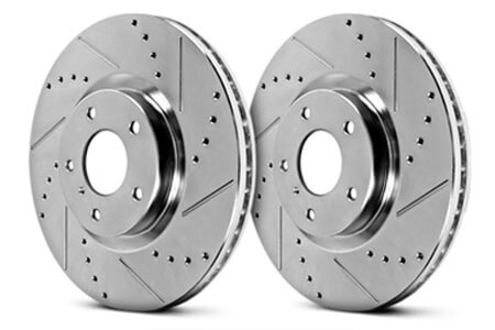 Drilled & Slotted Brake Rotors