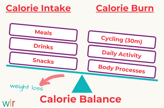 Calorie Balance - Lose Weight with Cycling